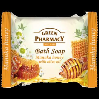 sapun banjoje fytyre te bute lemuar lekure mjalti manuka dhe vaj ulliri